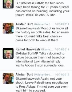 Burt tweets